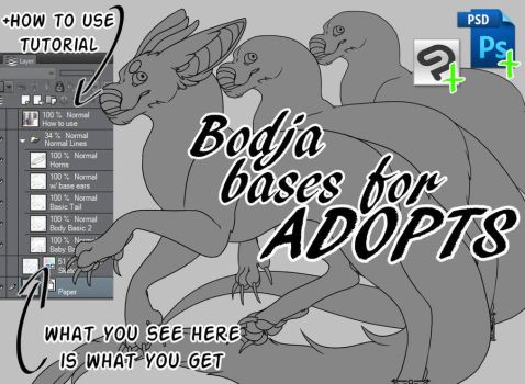 Bodja Bases For ADOPTS by Maro-King