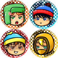 SP: Button Set by thelifeofabinder