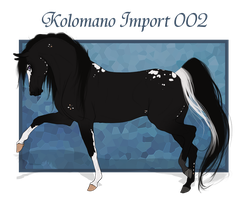 Kolomano Import 002 - Auction Closed by Paardjee
