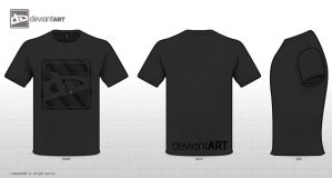 T-Shirt Design -dA Logo- by Wezza-T