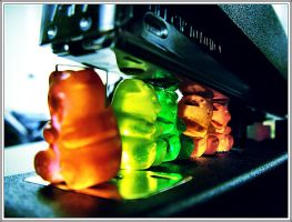 Revamp of Gummy Bears. by im-walkingaway