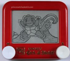 Squirtle etch a sketch by pikajane