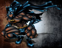 Batman By Nema by pixeltease
