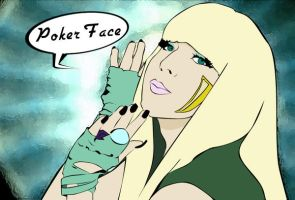 Poker Face by albhed-orator