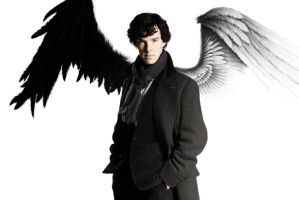 Sherlock Good vs Evil by katykittykat