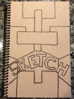 Sketch Book Cover by Devilsfan617