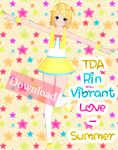 TDA Rin Vibrant Love - Summer Download by Yuu2002