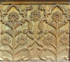 Persian Architecture 04 - Stone Relief by fuguestock