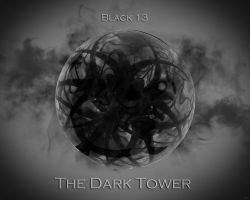 The Dark Tower - Black 13 by michalz00