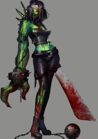 Zombie Girl Animated by PuddingzZ