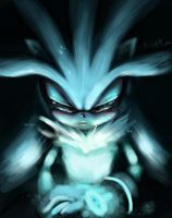 Silver the hedgehog by Legeh