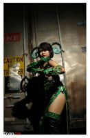 Beast Chameleon-Fist Mistress by AyrOmayra