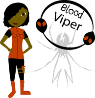 Me as a Killjoy - Blood Viper by MidnightThrills