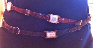 Belt made from old watches. by joe-cavalry