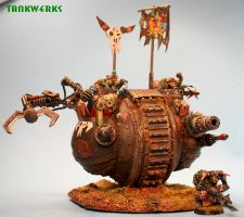 ork goff ball tank by billking
