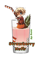 APH: Latvia Strawberry Kefir by RoxanTrinity