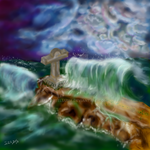 The Calvary and the Tempest by Adutelluma