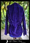 Purple Velvet Elf Jacket_II by LeChatNoirCreations