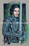 Game of Thrones Jon Snow  2014 by scotty309
