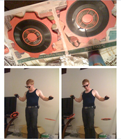 Props: Daves Time Turntables (Homestuck) by Schnikeman