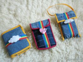 Rainbow Cases by aneesah