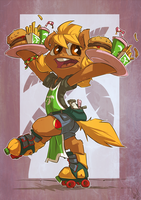 Order is on the Way by atryl