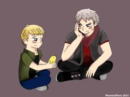 Germany and Prussia by Moonwolflove