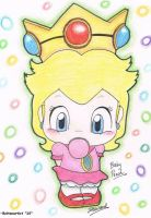 Baby Princess Peach by Boltonartist
