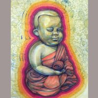 Lil' Buddha by The-Art-Official
