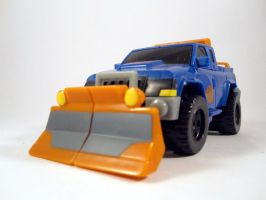 Animated sentinel prime (Vehicle mode) by scoobsterinc