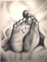 Petits pieds by crayon2papier