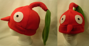 Pikmin fleece hat by lolkaysea