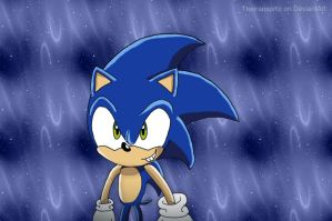 Hey look it's Sonic! by TheIransonic