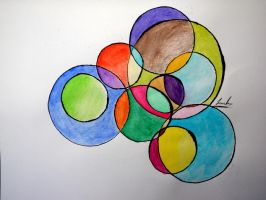 Water circles by Luuky