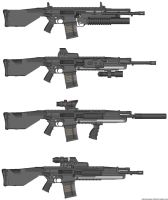 HCA43 Assault Rfle variants by Marksman104