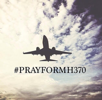 Pray For MH370 by twinelights