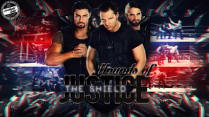 The Hounds Of Justice The Shield Wallpaper by AccidentalArtist6511