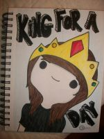 King For A Day by chryssiesweatshirt