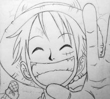 Luffy by WishOfBlood