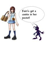 Kairi Has A Cookie by juanito3995