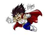 Kid Vegeta by Nstone53
