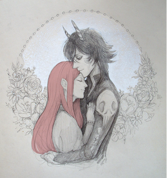 Somnus + Rion by shirowscafe