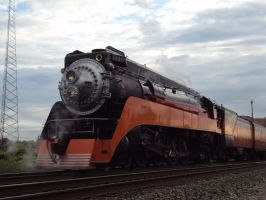 Southern Pacific 4449 by Mackinac-Mac