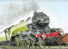 The Flying Scotsman by Billberry
