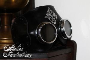 Engineer steampunk mask by AtelierFantastique