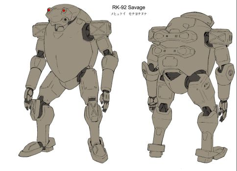 RK-92 Savage by kashim13