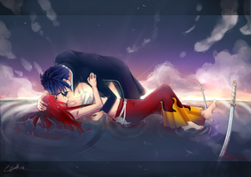 Fairy Tail: Lay down your weapon by RizaLa