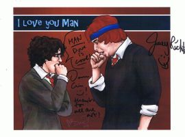Signed Bromance by StuckInThe90s