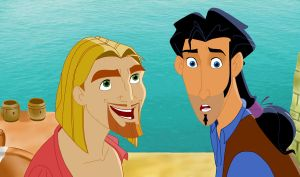 Road to Dorado- Miguel y Tulio by Eingel91