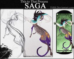 This To That -Saga Bookmark- by DJ88